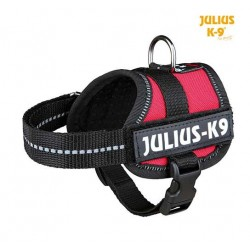 Harnais Power Julius-K9, Baby 1/XS: 30–40 cm rouge