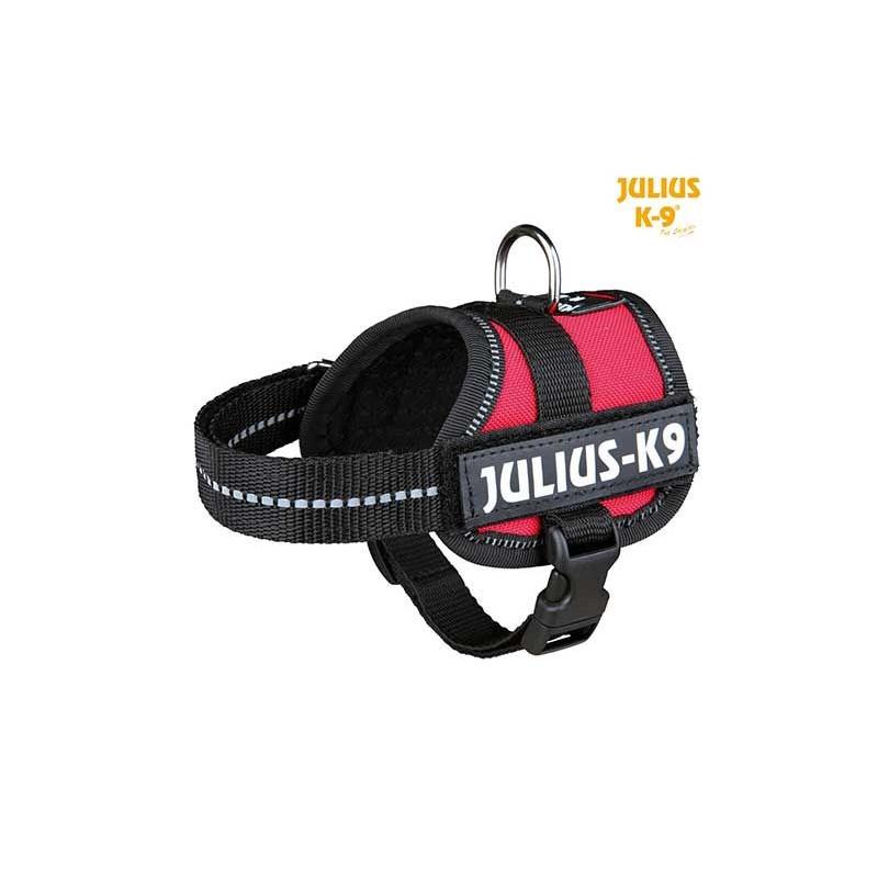 Harnais Power Julius-K9, Baby 1/XS: 30–40 cm rouge
