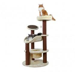 Arbre à chat Arietta, 145 cm, beige/brun