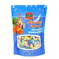 Gravier multicolore 450g