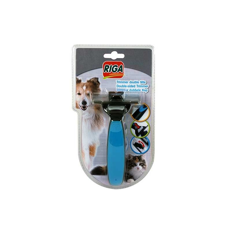Trimmer double tete chien & chat