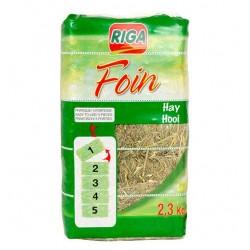 Foin compacté sécable 2,3 Kg (5 portions)