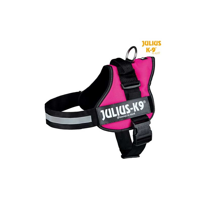 Harnais Power Julius-K9®, 1/L: 66–85 cm rose fushia