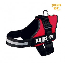 Harnais Power Julius-K9®, 1/L: 66–85 cm rouge