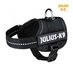 Harnais Power Julius-K9, Baby 1/XS: 30–40 cm noir