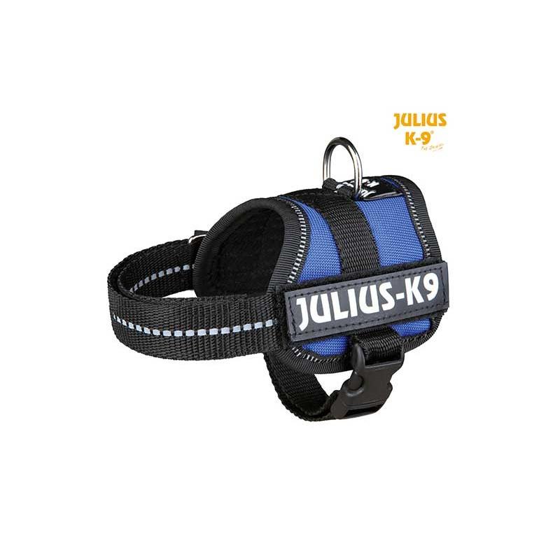 Harnais Power Julius-K9, Baby 1/XS: 30–40 cm bleu