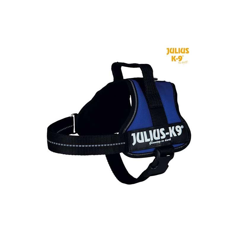 Harnais Power Julius-K9, Mini/M: 51–67 cm bleu
