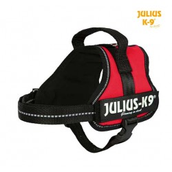 Harnais Power Julius-K9, Mini-Mini et S 40 à 53 cm rouge