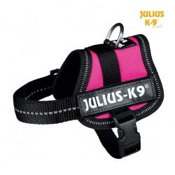 Harnais Power Julius-K9, Baby 2 XS et S 33 à 45 CM rose fushia
