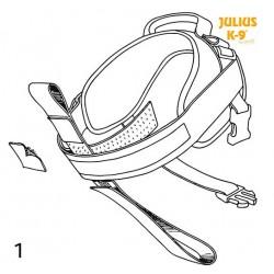 I-ceinture pour harnais Power Julius-K9 taille 3 ou 4