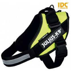 Harnais Power Julius-K9 IDC Mini taille M 49 - 67 cm jaune fluo
