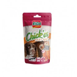 Friandise chien Chick'os Filet de poulet soft