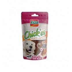 Friandise pour chien CHICK'OS Filet de poulet + stick x 4
