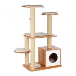 Arbre à chat cube en bois