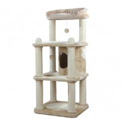 Arbre à chat Belinda, 140 cm, beige/naturel