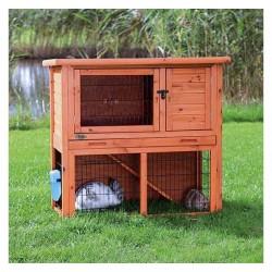 Natura clapier pour petits animaux, avec enclos