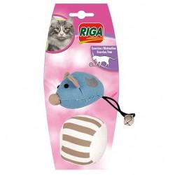 Souris + balle jouet pour chat