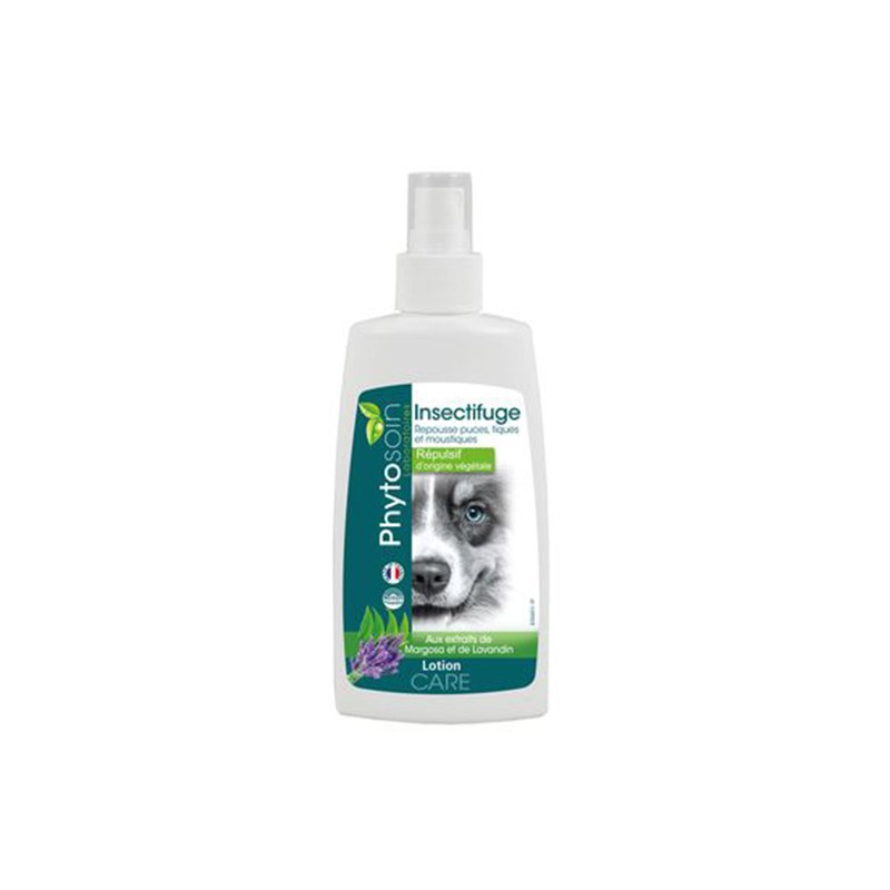 Lotion insectifuge chien en spray