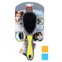 Brosse double chien & chat