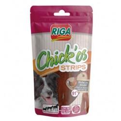 CHICK'OS Strips friandise pour chien lamelle de poulet