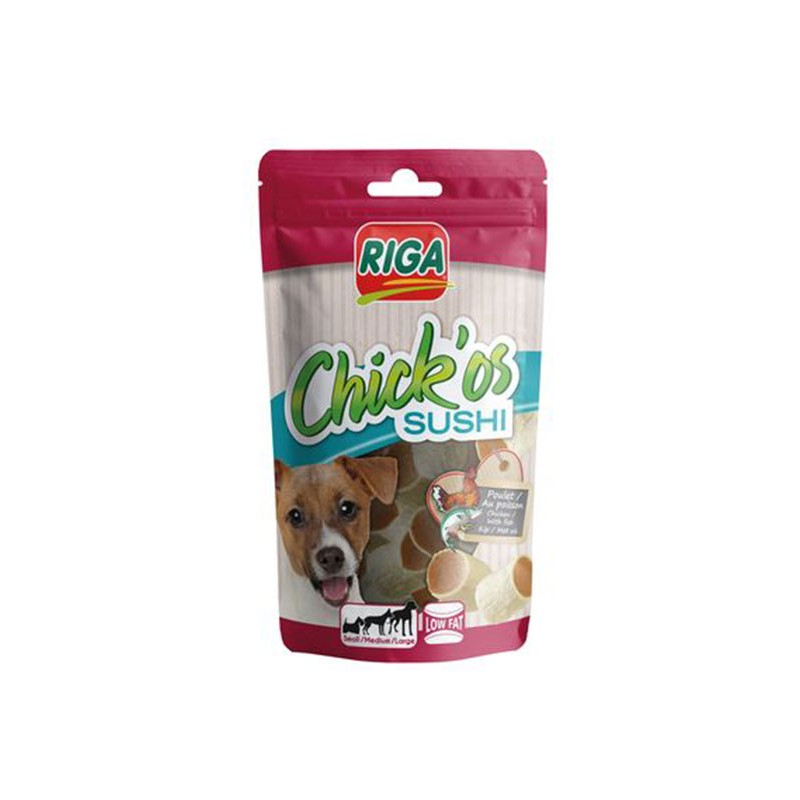 CHICK'OS Sushi friandise pour chien