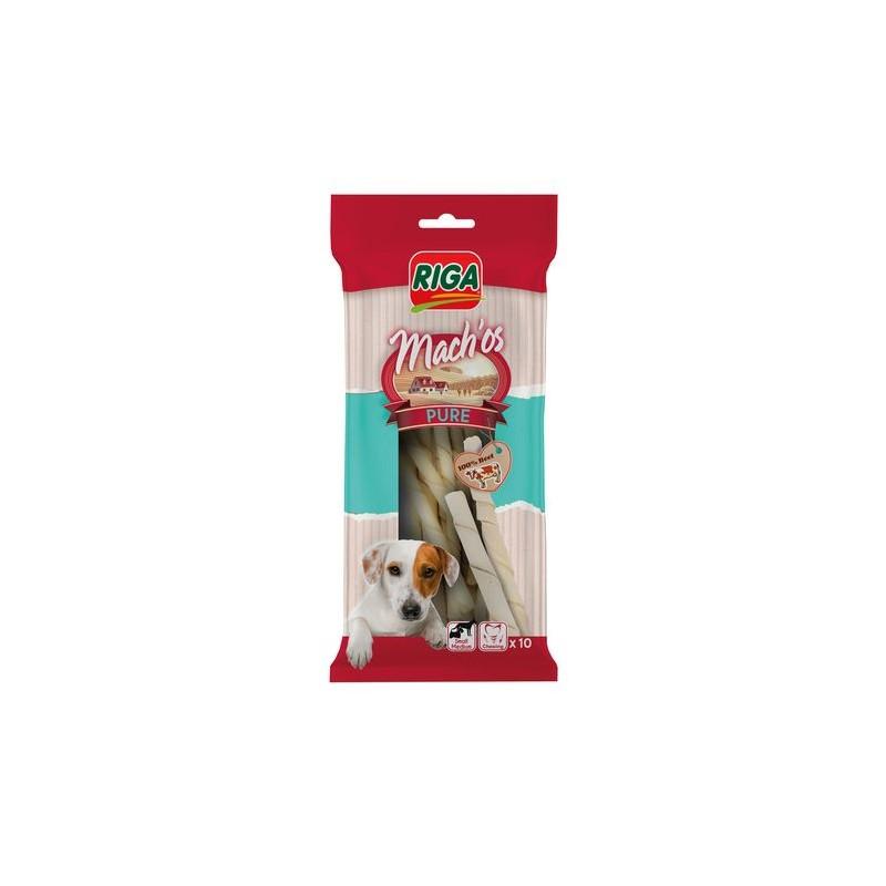 Bâtonnet torsadé blanc, friandise d pour chien