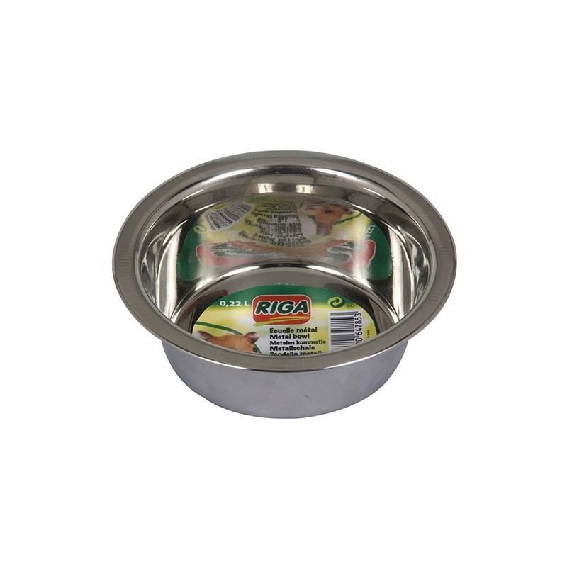 Ecuelle métal Hamster. 22 cl