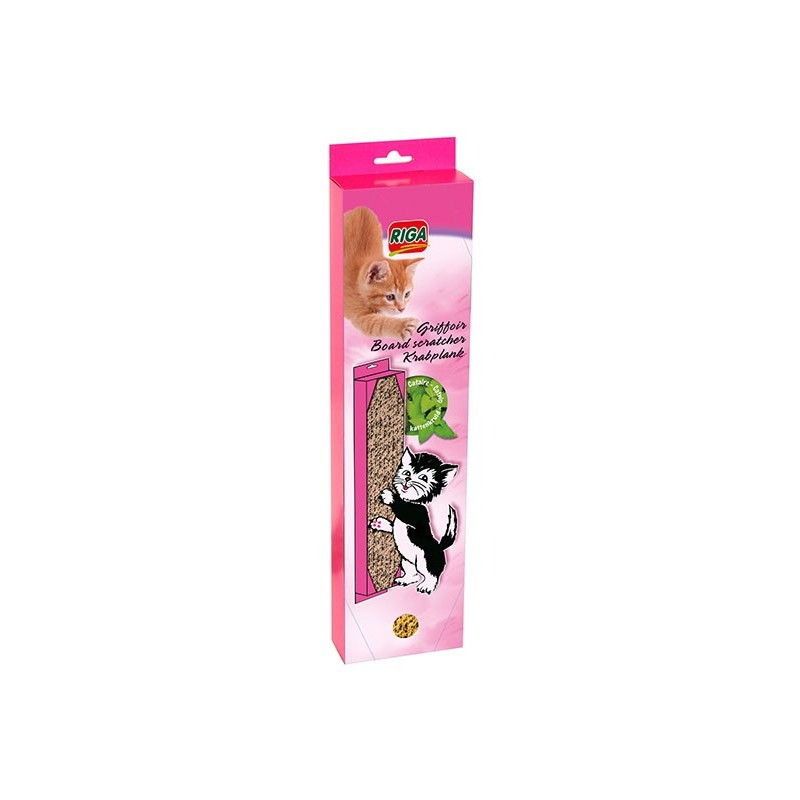 griffoir en carton pour chat pour griffer gratter et faire les griffes. Black Bedroom Furniture Sets. Home Design Ideas