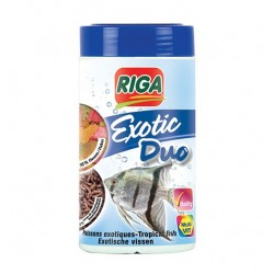 MENU EXOTIC DUO Flocons + Larves de moustiques - 40 g