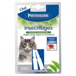 2 pipettes insectifuges chats