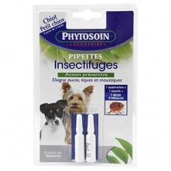 Pipettes insectifuges petits chiens x 2