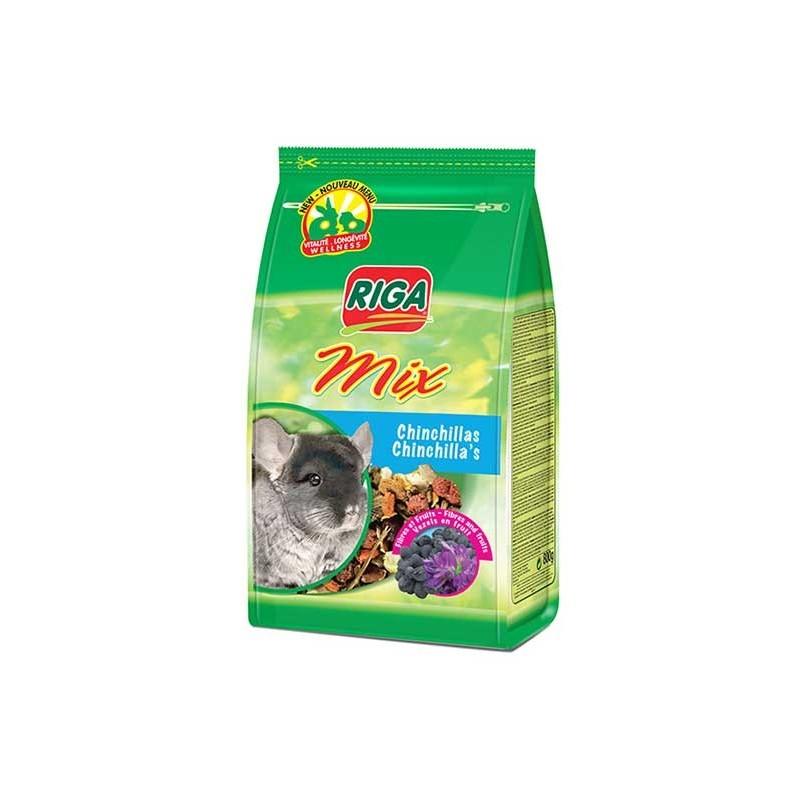 RIGA MIX Chinchillas Fibres et Fruits