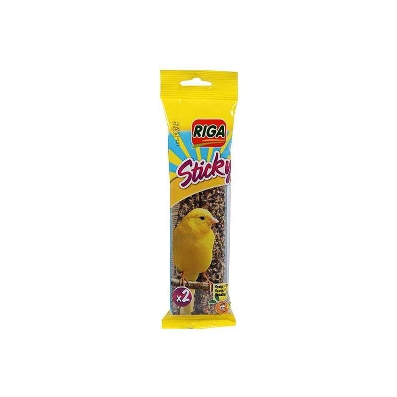 STICKY Canaris Orange Citron par 2