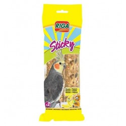 STICKY Grandes Perruches Bananes Papaye par 2